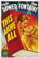 This Above All 1942 DVD - Tyrone Power / Joan Fontaine